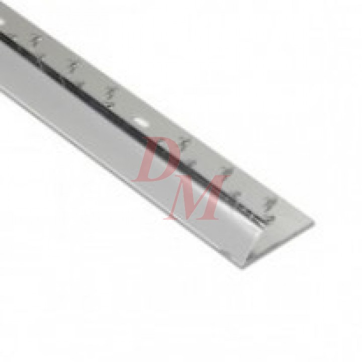 "Single Naplock (CM1) Silver 3'0"""