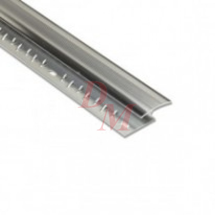 """Z Section Silver 9'0"""" 8mm"""