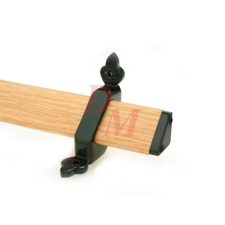 Tudor Wood Stairrods