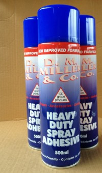 D.M Miller Spray Adhesive