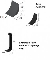 Quantum PVC Accessories- Cove Formers