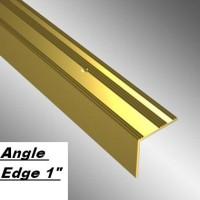 "Angle Edge 1"" - Gold 8'0"""