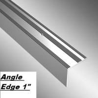 "Angle Edge 1"" - Silver 8'0"""